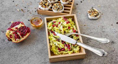 Fruchtiger Chinakohlsalat