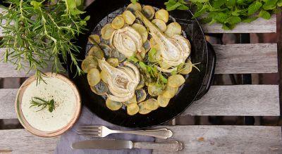 Fenchel-Kartoffel-Pfanne