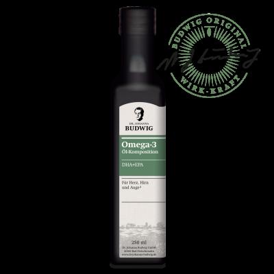 Omega-3 DHA+EPA Öl Pur (250 ml)