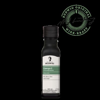 Omega-3 DHA+EPA Öl Pur (100 ml)