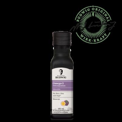 Omega-3 DHA+EPA Öl Maracuja (100 ml)