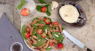 Vollkorn-Pasta-Salat