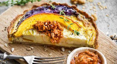Kalte Gemüse-Quiche