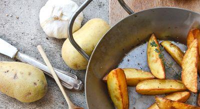 Kartoffeln aus der Pfanne