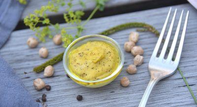 Budwig Kichererbsen-Hummus