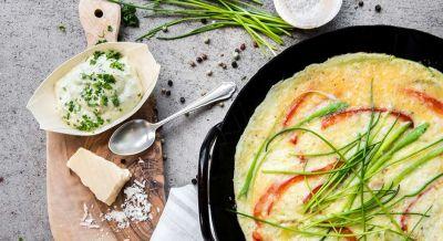 Kartoffel-Gemüse-Omelett