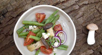Buschbohnensalat