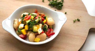 Weiße Bohnen Salat