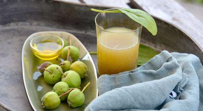 Spinat-Apfel-Saft